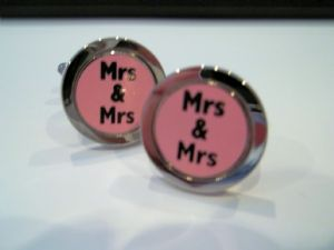 Gay Couples and Symbol Cufflinks